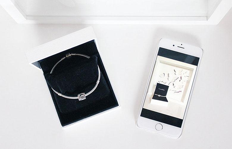 Pandora bracelet.