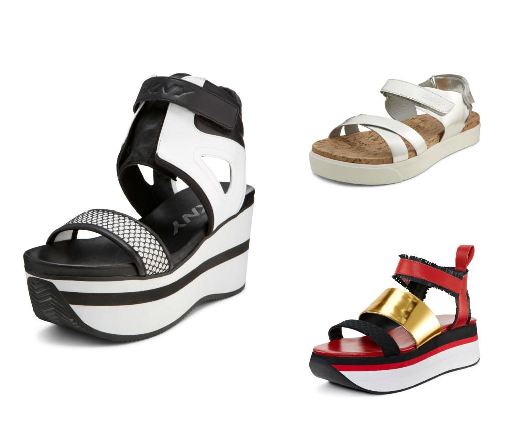 DKNY shoes.