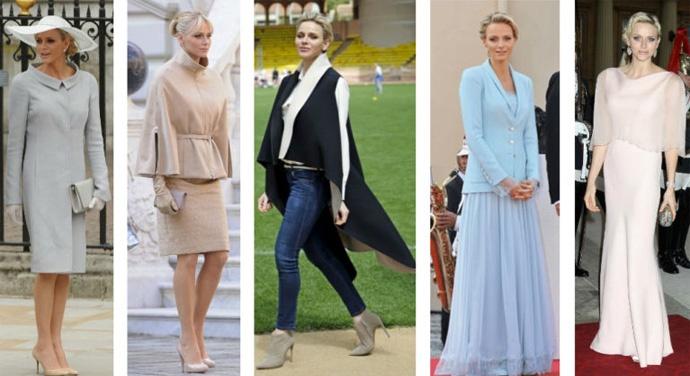 Charlene di Monaco style.