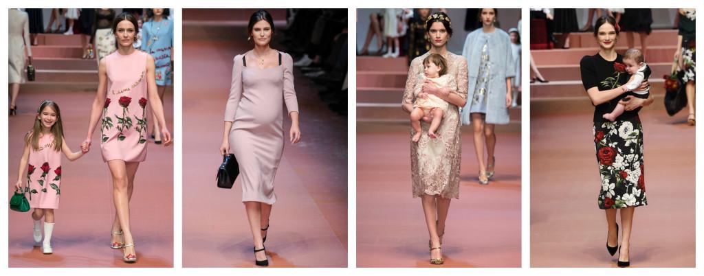 Sfilata di Dolce & Gabbana in onore della mamma. :)