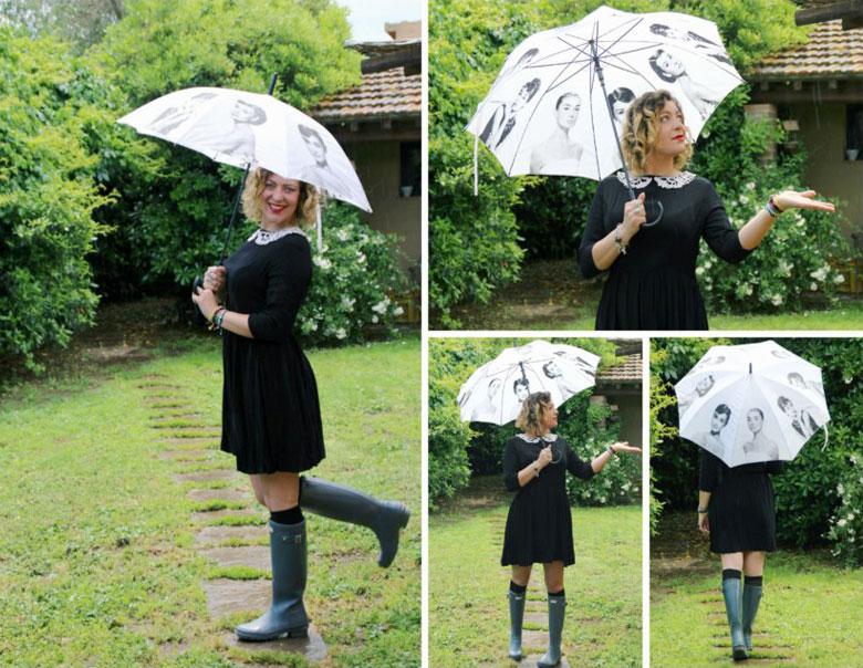 Outfit pioggia.