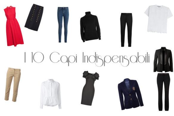 I 10 capi indispensabili