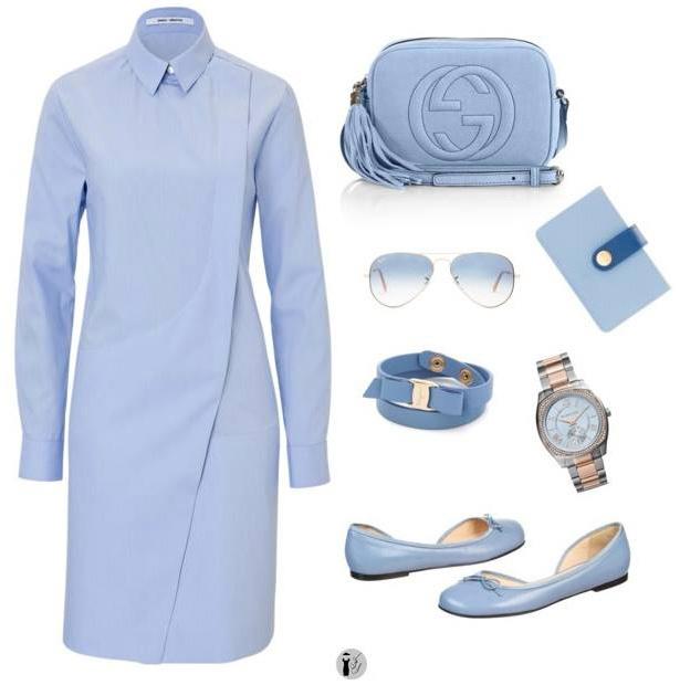 Aquamarine colori di stagione outfit.