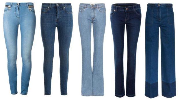 Capi indispensabili pantaloni di jeans.