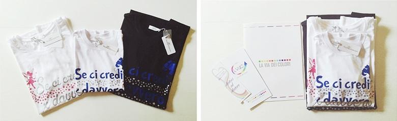 Magliette BuyItalianStyle for La Via dei Colori Onlus.
