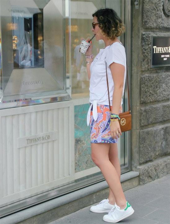 Outfit merenda da Tiffany - Snack from Tiffany outfit.