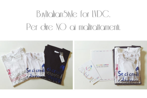 BuyItalianStyle for LVdC per dire NO ai maltrattamenti