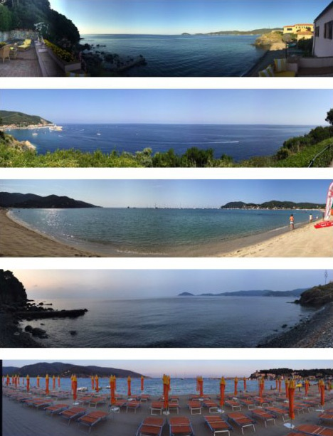 Vacanza all'Isola d'Elba.
