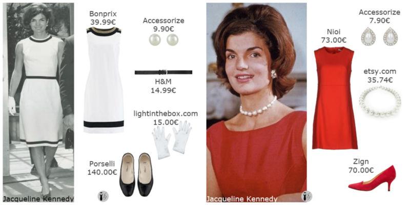 Jacqueline Kennedy look.