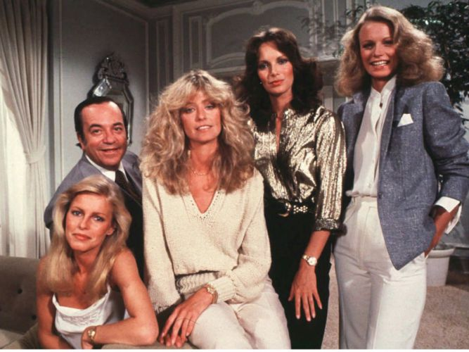 TV serie Charlie's Angels 1976-1981.