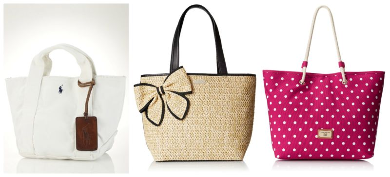 Summer indispensable bags.
