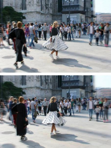 Milano Fashion Week.