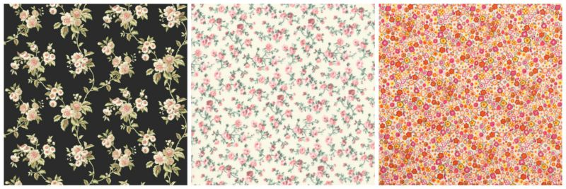 Fantasia floreale - Floral pattern.