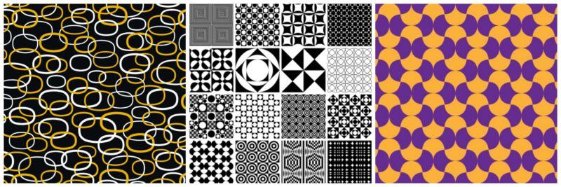 Geometric texture.