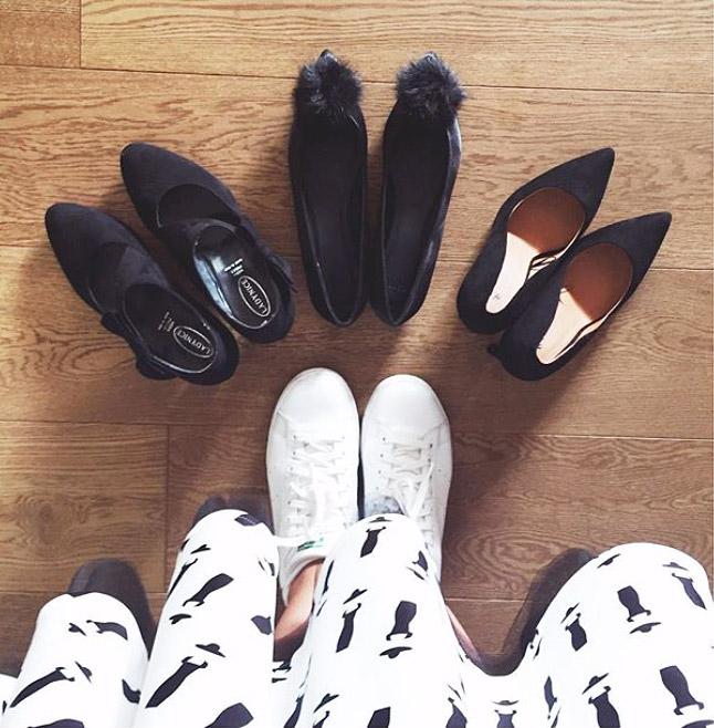 Quali scarpe mi metto?