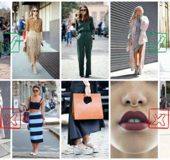 5 Top & Flop dalle tendenze moda degli ultimi tempi