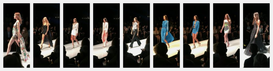 John Richmond fashion show.