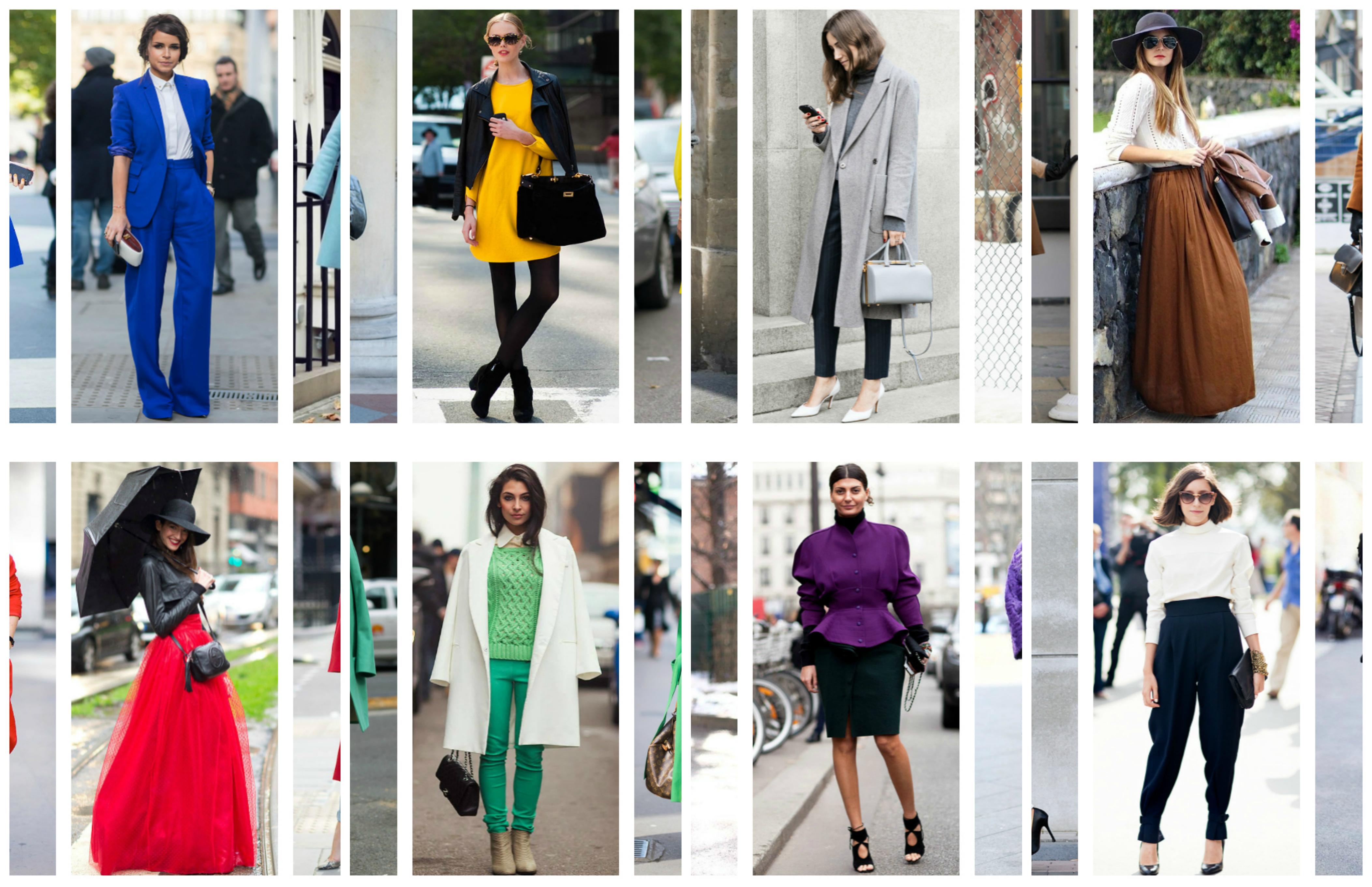 Come indossare i colori - Fashion colors.