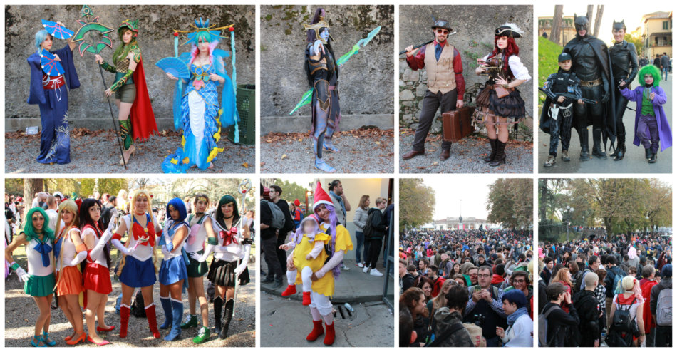 Cosplay Lucca Comics and Games.