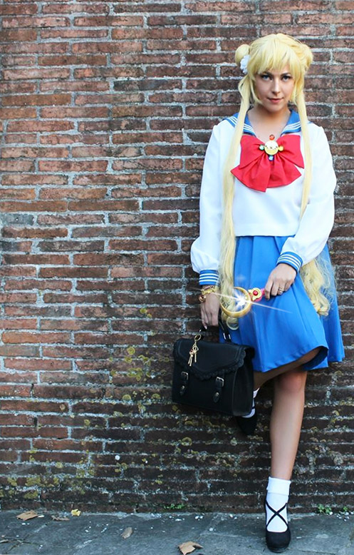 Cosplay Sailor Moon Crystal Usagi Tsukino.