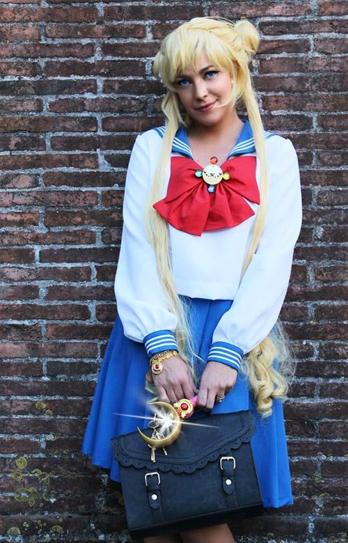 Cosplay Sailor Moon Crystal.