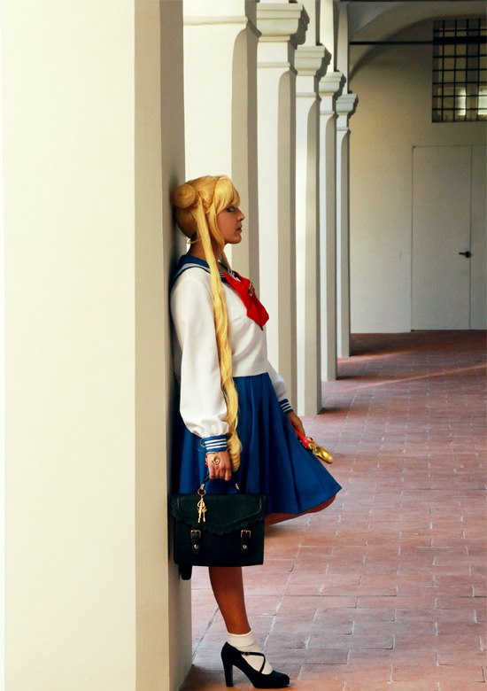 Cosplayer Sailor Moon.