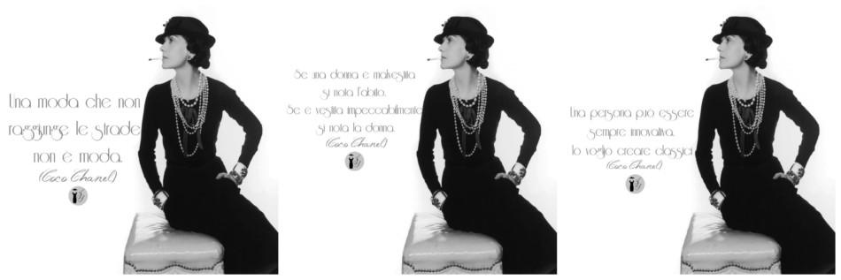 Citazioni Coco Chanel - Quotes Coco Chanel