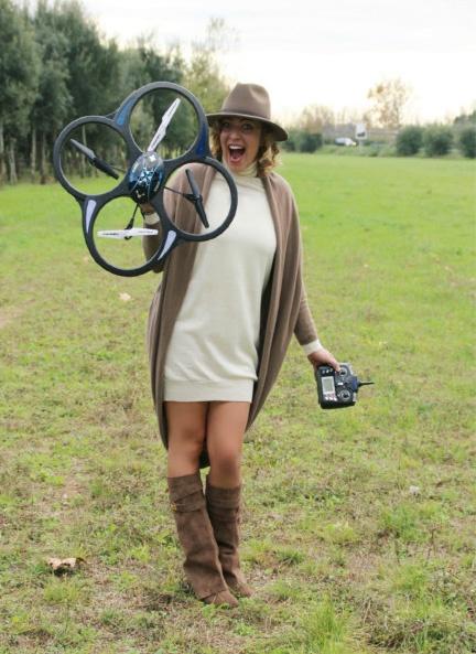 Come giocare con un drone.