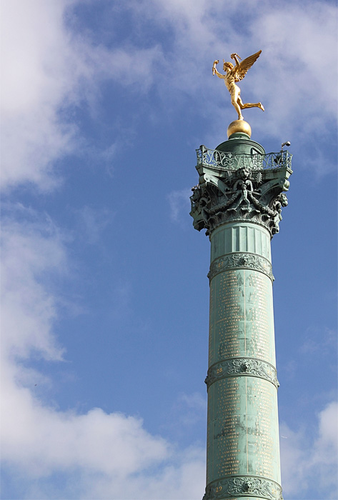 Place de la Bastille Paris.