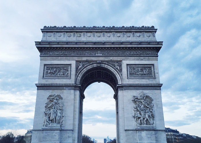 Arc de Triomphe Paris.