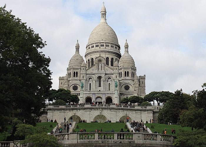Basilica del Sacro Cuore a Parigi.