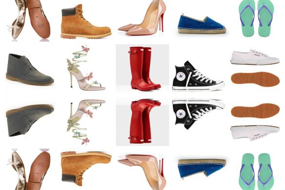 10 modelli di scarpe che non passano mai di moda - 10 shoe styles that never go out of fashion.