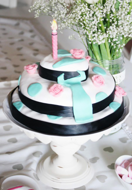 How to make a personalized birthday blog cake.