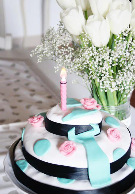 Birthday blog cake recipe.