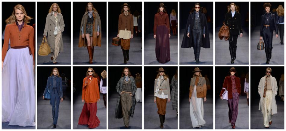 Trussardi fashion show, Milan fashion week, collection fall winter 2016-17.