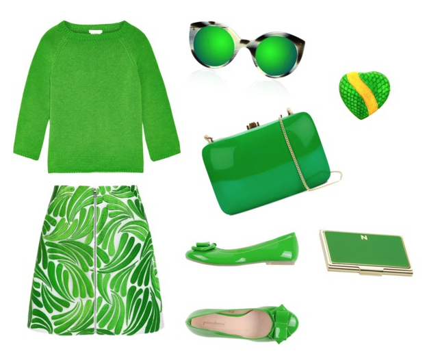 Green Flash color inspiration.