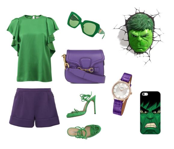 Hulk inspiration style.