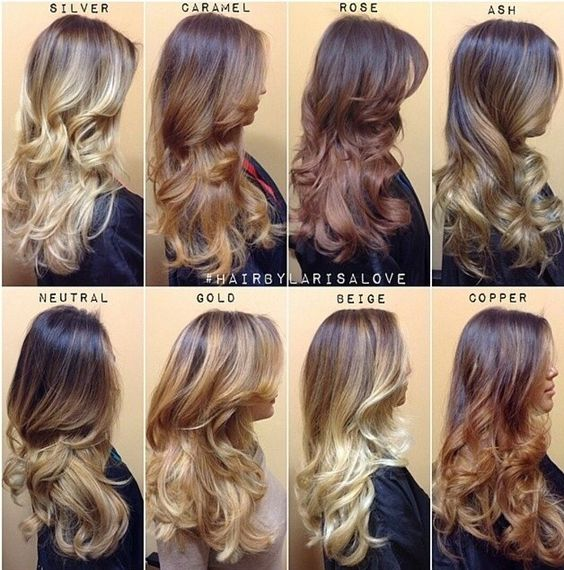 How to behave at the hairdresser to obtain the desired hair color.