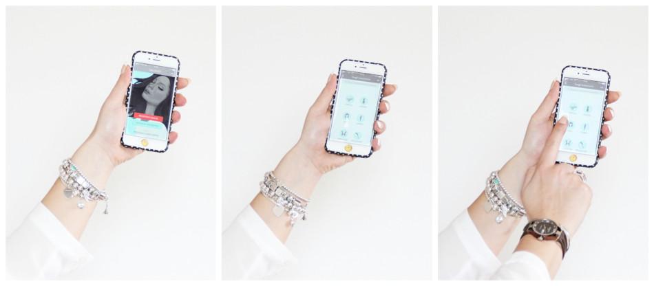 Salonist iPhone app.