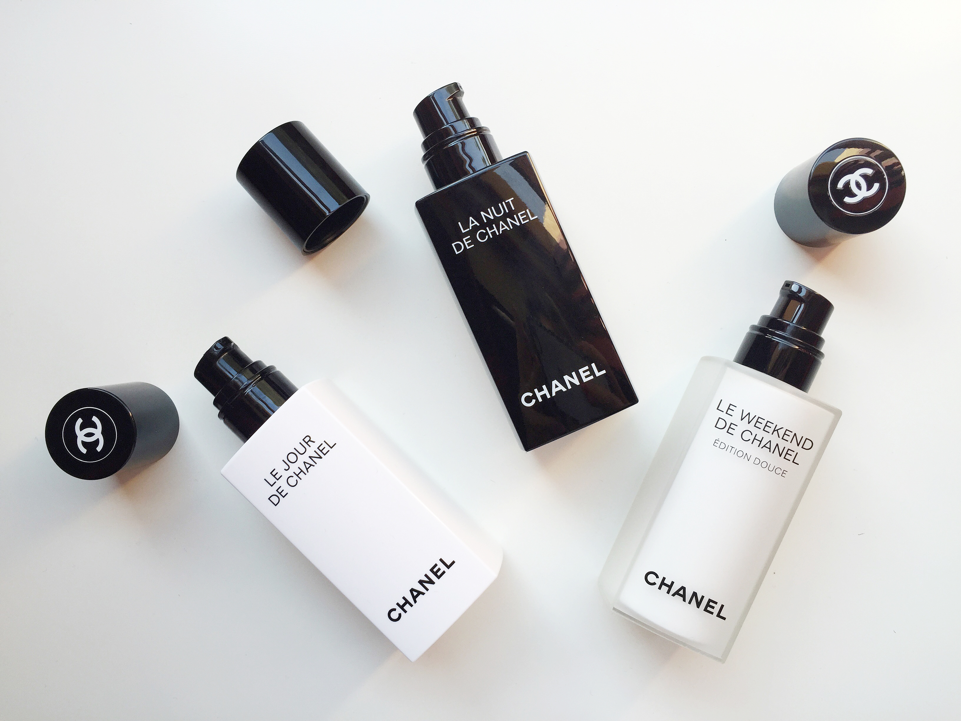 Chanel beauty routine.