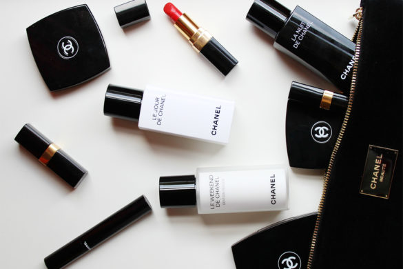 Beauty routine Chanel. Le Jour, La Nuit and Le Weekend.
