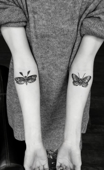 Butterfly tattoo ideas inspirations.