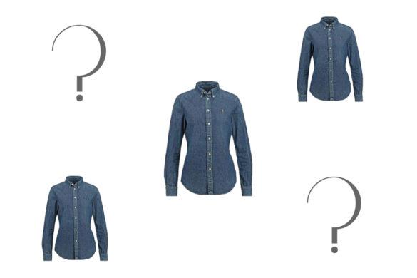 Come indossare una camicia di jeans - How to wear a denim shirt.