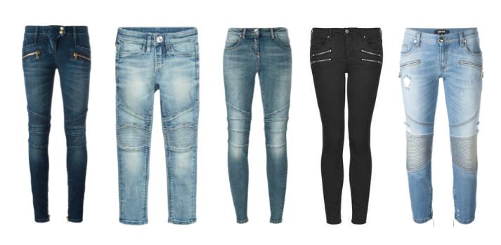 Biker Jeans.