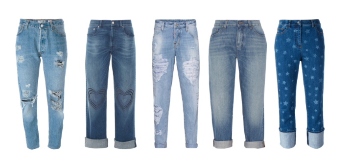 Boyfriend o Baggy Jeans.