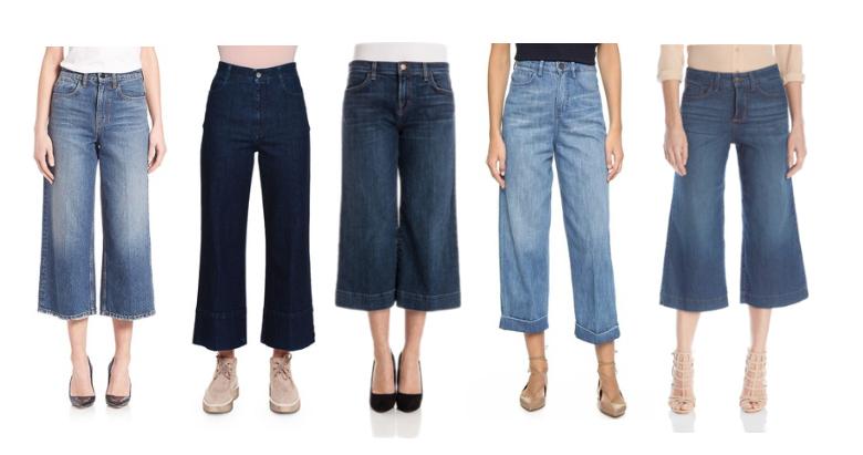 Culotte Jeans.