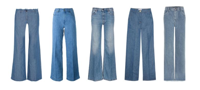 Wide Legg Jeans.