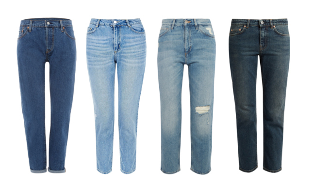 Capi classici senza tempo, i jeans a sigaretta - Classic timeless pieces, straight jeans.