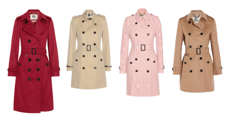 Capi classici senza tempo, il trench Burberry - Classic timeless pieces, Burberry trench.