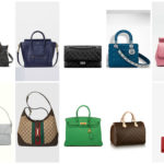 Le 10 borse donna più desiderate - The 10 most desired handbags.